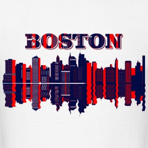 boston skyline T-Shirts - Men's T-Shirt