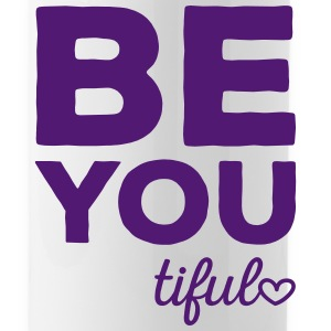 Be-You-Tiful Positive Quote Sportswear - Water Bottle