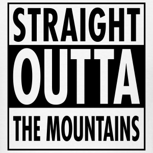 Straight Outta The Mountains T-Shirts - Men's T-Shirt