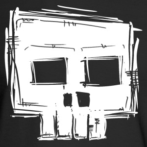 square skull.png Long Sleeve Shirts - Men's Long Sleeve T-Shirt