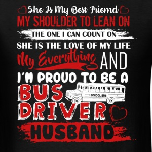 Bus Driver Husband Shirt - Men's T-Shirt