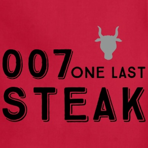 007 steak - Adjustable Apron