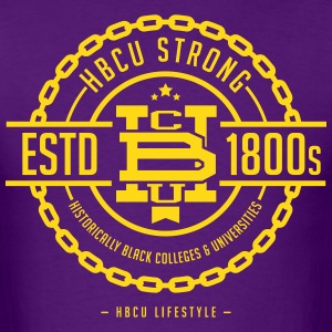 HBCU Strong - Men's Purple and Gold T-Shirt - Men's T-Shirt