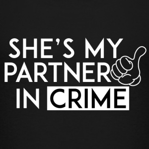 She's partner in crime - Kids' Premium T-Shirt