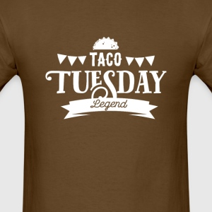 Taco Tuesday Legend - Men's T-Shirt