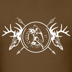 True Hunter White T-Shirts - Men's T-Shirt