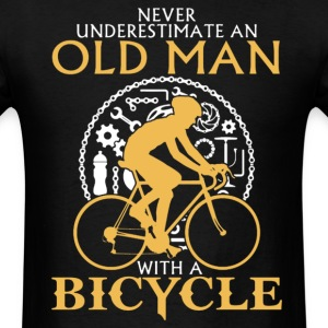 OLD MAN BICYCLE T-Shirt - Men's T-Shirt