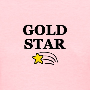 Gold Star Gay - Women's T-Shirt
