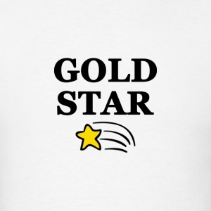 Gold Star Gay - Men's T-Shirt