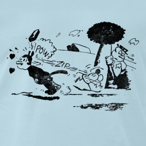 Pulp Fiction – Krazy Kat - Men's Premium T-Shirt