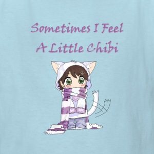 Little cute chibi girl kids - Kids' T-Shirt