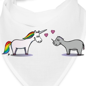 Unicorn and Rhino Caps - Bandana