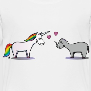 Unicorn and Rhino Baby & Toddler Shirts - Toddler Premium T-Shirt