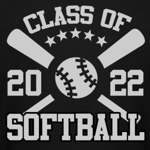 CLASS OF 2022 SOFTBALL, CLASS OF, 2022, SOFTBALL - Men's Tall T-Shirt