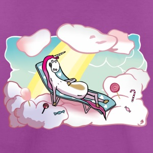 Happy unicorn in heaven Kids' Shirts - Kids' Premium T-Shirt