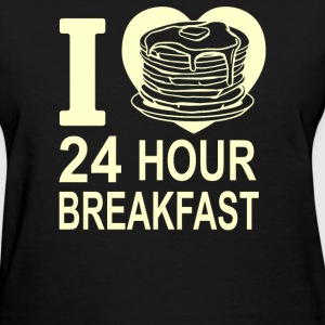24 Hour Breakfast - Women's T-Shirt