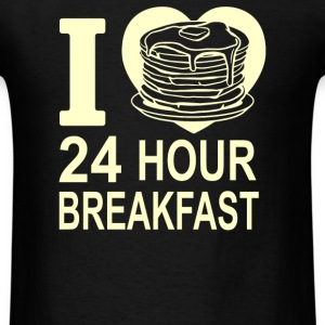 24 Hour Breakfast - Men's T-Shirt