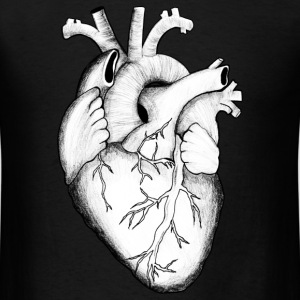 Anatomical Heart - Men's T-Shirt