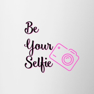 Be Your Selfie Mugs & Drinkware - Contrast Coffee Mug