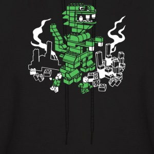 Blockzilla Returns - Men's Hoodie
