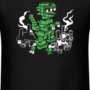 Blockzilla Returns - Men's T-Shirt