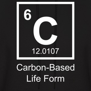 Carbon-Based Life Form - Men's Hoodie