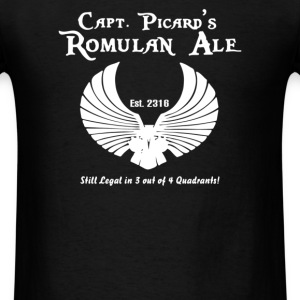 Captain Picard's Romulan Ale est - Men's T-Shirt