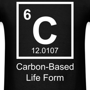 Carbon-Based Life Form - Men's T-Shirt