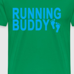 running_buddy_ - Men's Premium T-Shirt