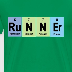 runner_made_of_elements_ - Men's Premium T-Shirt