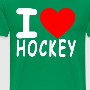 i_love_hockey_ - Men's Premium T-Shirt
