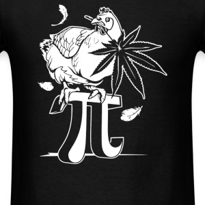 Chicken Pot Pi - Men's T-Shirt