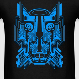 Circuit Wolf - Men's T-Shirt