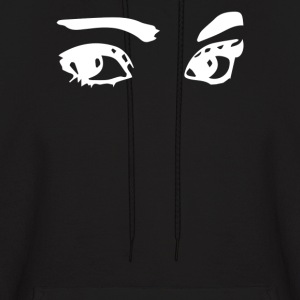 Cute and creepy eyes - Men's Hoodie
