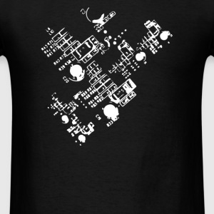 Detailed Circuit - Men's T-Shirt
