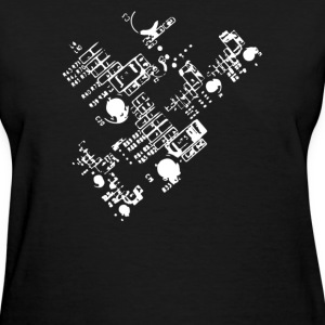 Detailed Circuit - Women's T-Shirt