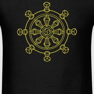 Dharma Wheel - Men's T-Shirt
