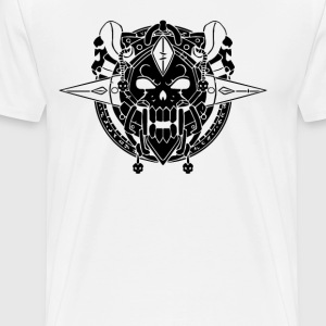 Death Knight Crest - Men's Premium T-Shirt