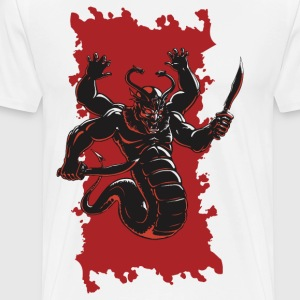 Serpent God - Men's Premium T-Shirt