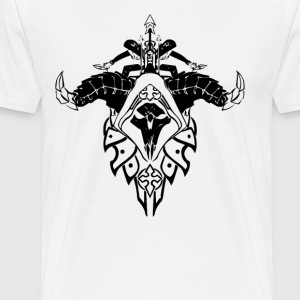 Demon Hunter Crest - Men's Premium T-Shirt