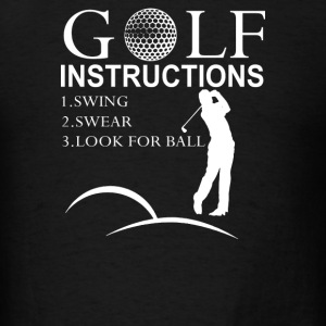 Golf Instructions - Men's T-Shirt
