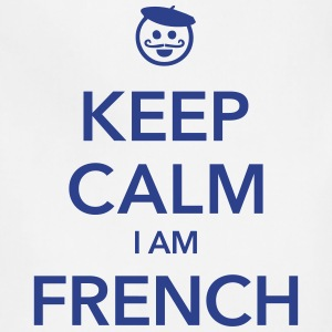 KEEP CALM I AM FRENCH - Adjustable Apron