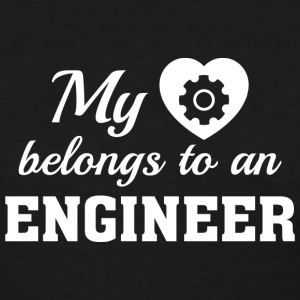 Heart Belongs Engineer - Women's T-Shirt
