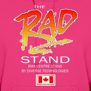 The Rad Stand - Old School BMX Womens Hoody - Women's Hoodie