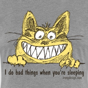 Bad Cat - Women's Premium T-Shirt