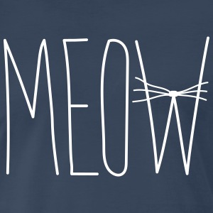 Meow Whiskers T-Shirts - Men's Premium T-Shirt
