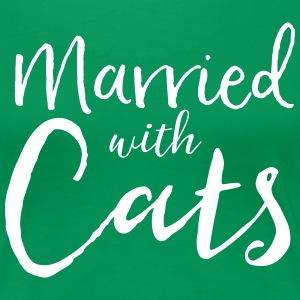 Married with Cats T-Shirts - Women's Premium T-Shirt