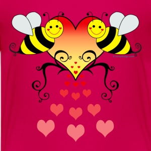 Bumble Bees Love - Kids' Premium T-Shirt