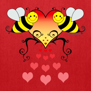 Bumble Bees Love - Tote Bag