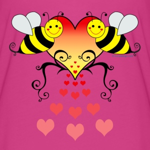 Bumble Bees Love - Women's Flowy T-Shirt